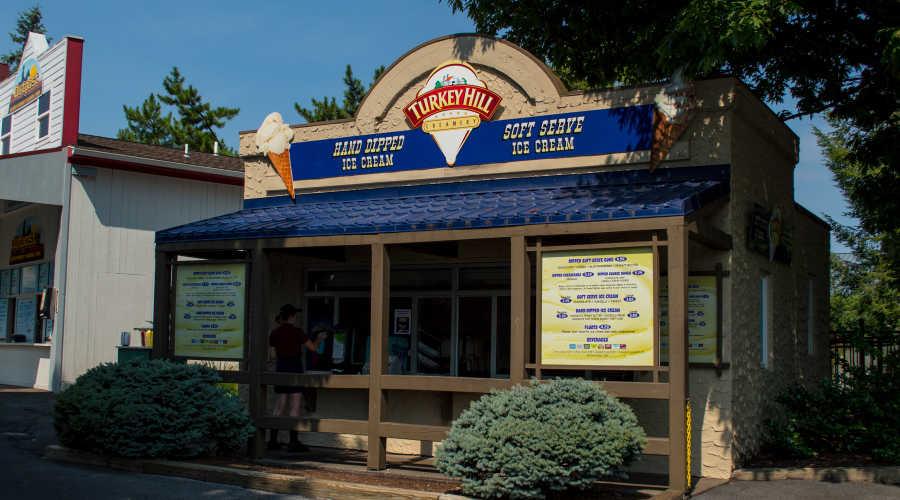 Turkey Hill Creamery inside Hersheypark