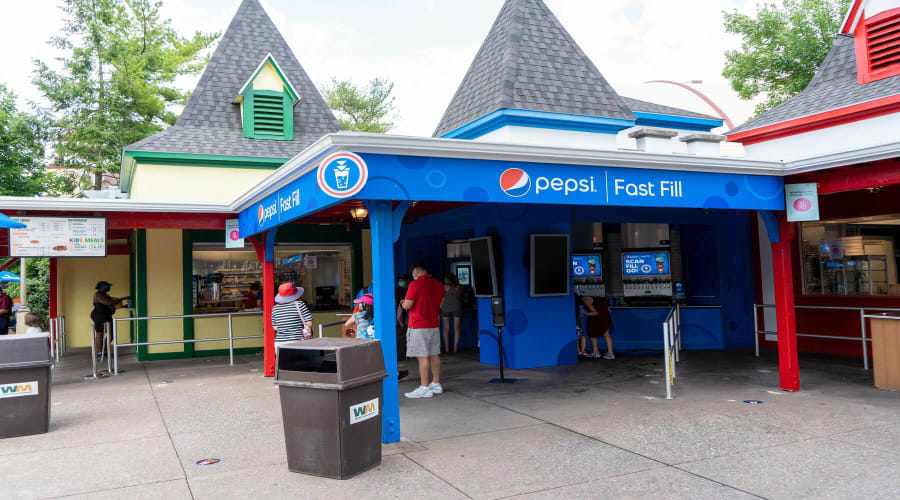 Pepsi Fast Fill at Dispatch Pizzeria - New This Summer!