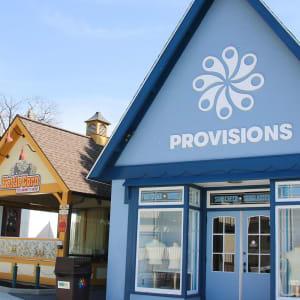 Provisions shop