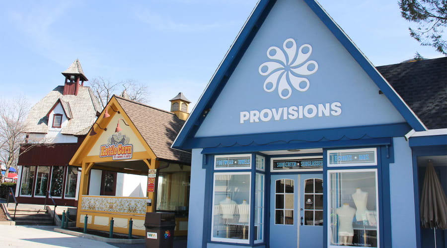 Provisions shop