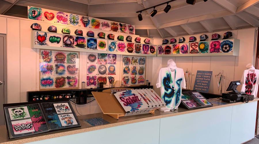 Hersheypark Glow Apparel shop