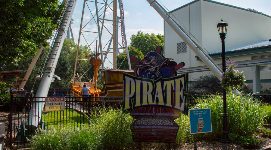 Pirate ride sign
