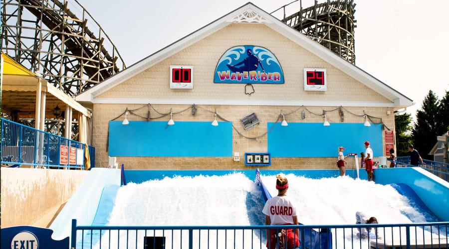 waverider water attraction at hersheypark