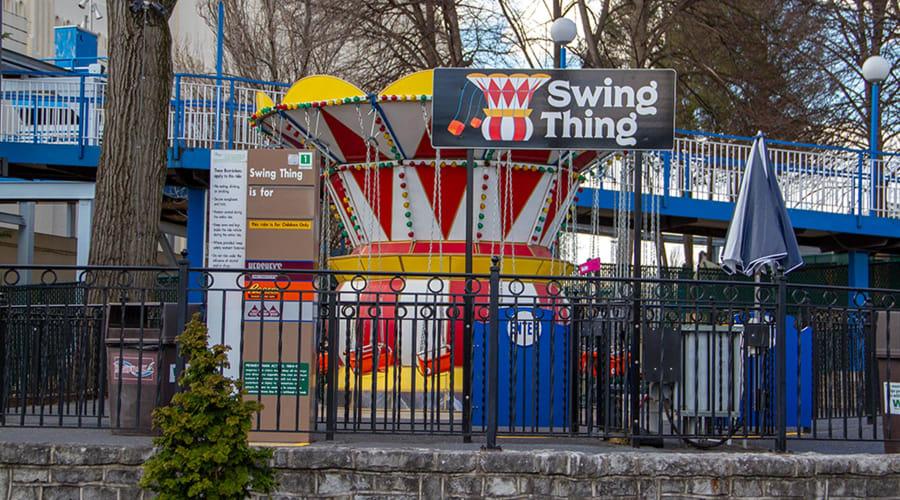 Swing Thing ride at Hersheypark