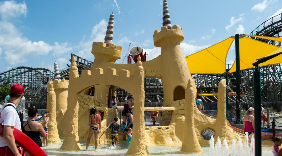 Sandcastle Cove water attraction at Hersheypark