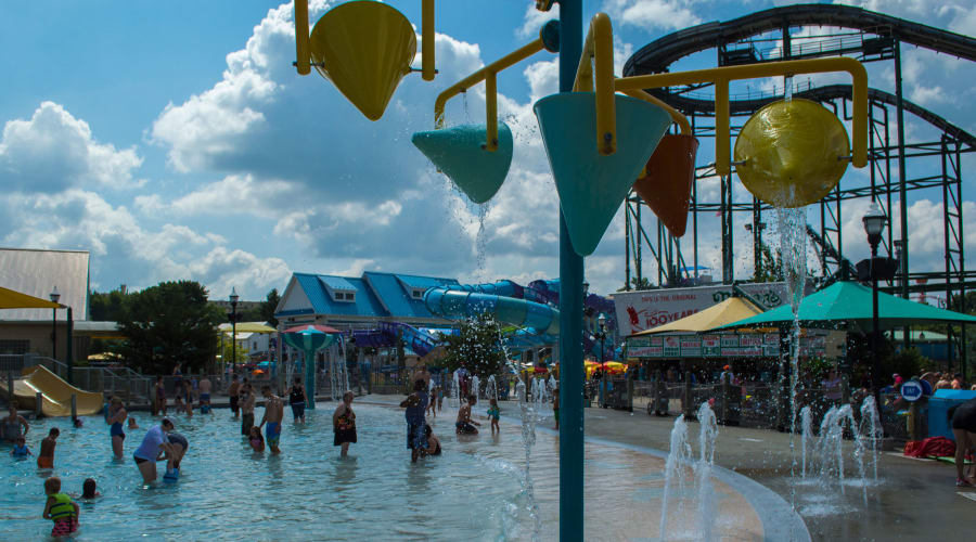 Bayside Pier Water Attraction