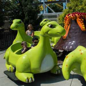 Dinosaur-Go-Round at Hersheypark
