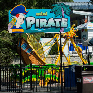 Mini Pirate Ride at Hersheypark